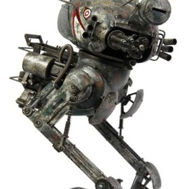World War Robot PUNTER BOT SNIPER BBICN EXCLUSIVE