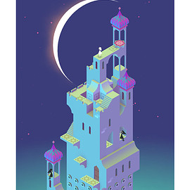 monument valley print - MULTISTABLE PERCEPTION