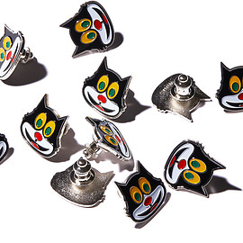 Supreme - Mad Cat Pin