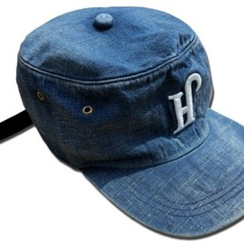 HEADGOONIE - PIRATE VINTAGE DENIM CAP
