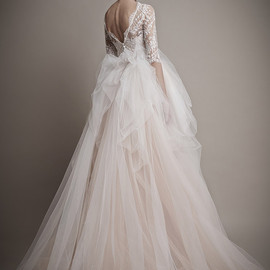 Ersa atelier - pale pink wedding dress
