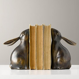 AVAILABILITY & DELIVERY - Bunny Bookends - Set of 2