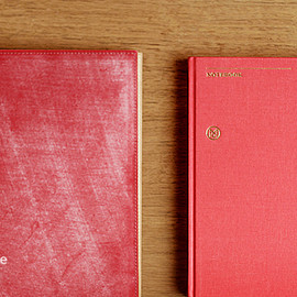 GANZO - GANZO×Monocle/A5 Notebook Cover - Bridle Leather