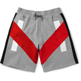 Givenchy - Panelled Cotton Shorts