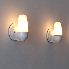 Pair of Wilhelm Wagenfeld Sconces for Lindner