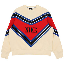 NIKE - WMNS Crewneck Sweatshirt Muslin / University Red