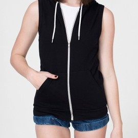American Apparel - California Fleece Sleeveless Zip Hoodie