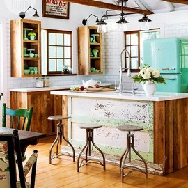 beautiful kitchen counter