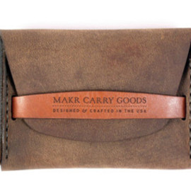 Makr Carry Goods - FLAP WALLET