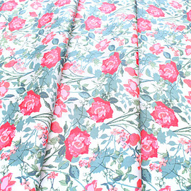 Art Gallery Fabrics - Picturesque Rosemantic Trellis Bright