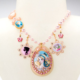 TARINA TARANTINO - BARBIE® MULTICHARM NECKLACE