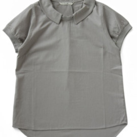 P.A.M. - Meso Collared Top (lt grey)