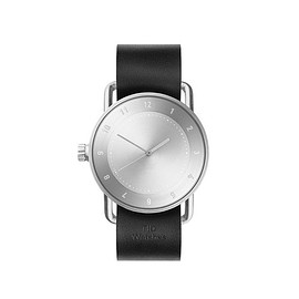 TID Watches - TID No.2/ Black Leather Wristband