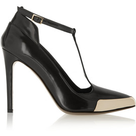 JASON WU - Polished-leather T-bar pumps