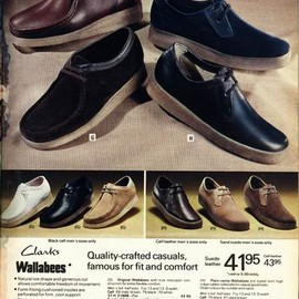 Clarks  - MADE IN IRELAND