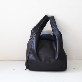 commono reproducts - Leather Shopping Bag