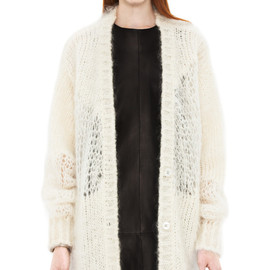 Acne - Ono heavy mohair white