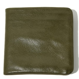 COSMIC WONDER Light Source - VEGETABLE TANNED LEATHER BILFORD WALLET - 12-13 F/W EDITION
