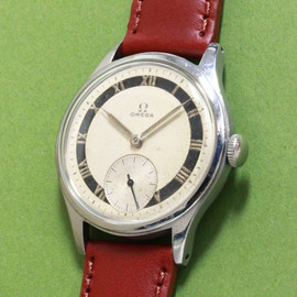 OMEGA - SS waterproof case Cal.30T2PC 1940'S