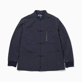 the POOL aoyama - CHINA JACKET (Navy)
