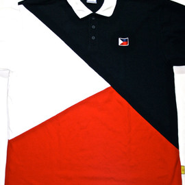 VINTAGE - Vintage Philippines Flag Polo Shirt Pinoy Filipino Shirt Mens Size XL