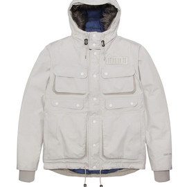 White Mountaineering - Luggage down jacket