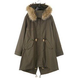 United Bamboo - FISHTAIL PARKA