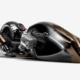 BMW - concept is a futuristic motorcycle