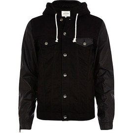 River Island - HOODED DENIM JACKET