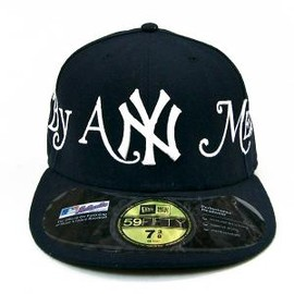 Supreme, New Era - 59FIFTY: BY ANY MEANS