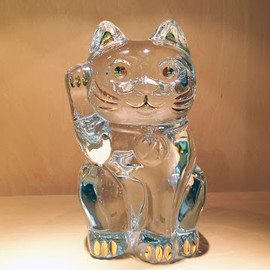 Baccarat - Crystal Manekineko (Big)