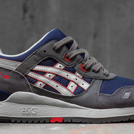 asics - Gel Lyte 3 – Grey / Navy – Red