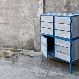 Breg Hanssen - NewspaperWood cupboard