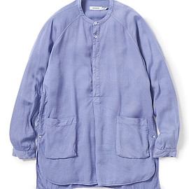 nonnative - PAINTER PULLOVER LONG SHIRT LYOCELL CHINO CLOTH OVERDYED
