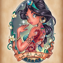 Tim Shumate - Royal Blood Art Print