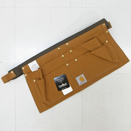 CARHARTT  - DUCK NAIL APRON [C.BROWN]