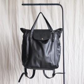 TROVE - MAALARI BAG [SOLUMN LEATHER] #black