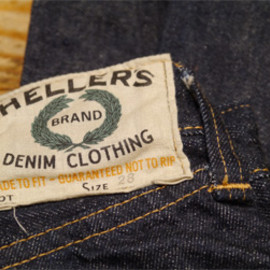 Heller's Cafe - 2012XX OLYMPIC BRAND 5p Denim Pants