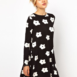 asos - flower dress