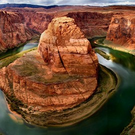 Colorado River, Glen Canyon, Arizona - 'Horseshoe Bend'