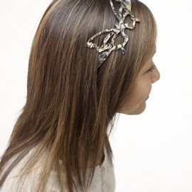 Alexandre de Paris - BUTTERFLY HEADBAND
