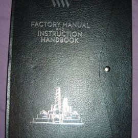 Tim Burton(Charie and The Chocolate Factory) - Factory Manual and Instruction Hand Book