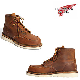 red wing - moc toe classic RED WING CLASSIC MOC TOE BOOT | TOBI 25% VOUCHER