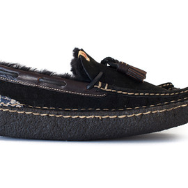 visvim - ISLAND LAKE SLIPPERS-FOLK