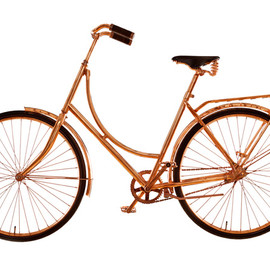Van Heesch Design - Carbon Bike, Copper finish