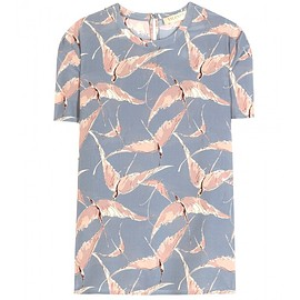 VALENTINO - Printed silk top