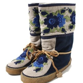 F-TROUPE  EMBROIDED INUIT BOOT
