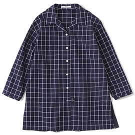 efiLevol - Checked Shirt Coat W