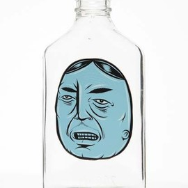 Barry McGee - Untitled,  Hand Painted Bottle