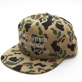 Stussy - Tribe Worldwide Mil Spec No.80 Baseball Cap
